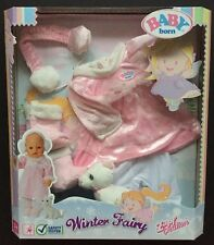 Zapf Baby Born Winter Fairy Outfit New