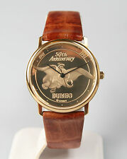 Mint Unisex Polished Gold-Tone Disney Dumbo Watch by Pedre. New and Unworn.