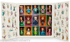 Disney Store Aminators 15 Mini Doll Set Belle Elsa Snow White Cinderella Jasmine