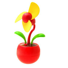 B3 Mini Apple flower USB Desk Fan in Red