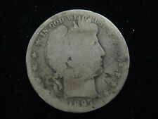 1897 O Us Barber Half Dollar 50 Cent Coins