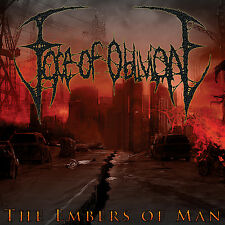 """FACE OF OBLIVION """"The Embers of Man"""" death metal CD"""