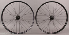"Velocity Dually 26"" MTB Wheelset DT Swiss 2.0 Shimano Deore 6 Bolt Black Hubs"