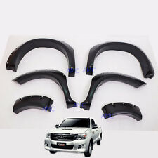 Fender Flare 6 Arch Fit Toyota Hilux Vigo SR Champ 2012 13 14 Wheel Off-road SET