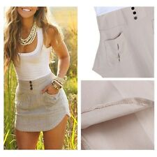 New Womens Summer Casual Sleeveless Party Evening Cocktail Short Mini Dress