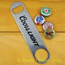 Coors Light Speed Bar Blade Opener, Steel, Open Your Bottles Like A Pro! NEW!!