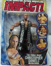 TNA Christopher Daniels signed action figure w/COA