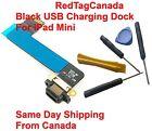 Black USB Charging Dock Port Connector Flex Ribbon Cable For iPad Mini + 5 tools