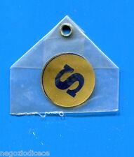 """KICA - Sorprese Decalcomania Figurina-Sticker anni 60 - LETTERA """"S"""" TONDA"""