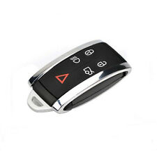 Smart Remote Key 5B Case Shell + Key Blank Uncut for JAGUAR X S-Type XF XK XKR