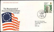 GB FDC 1976 American Independence, Bureau H/S #C19554
