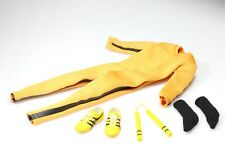Custom Bruce Lee 1/6 Game of Death Jumpsuit Nunchaku for Hottoys Enterbay Body