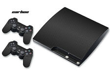 Skin Decal Wrap for PS3 Slim Black Warfare Playstation 3 Cod Console CARBON