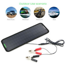 18V 5W Solar Panel Charger Backup Pack For Boats Automobile Motorcycle Batteries