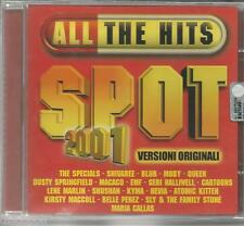 All the hits Spot SPECIALS BLUR QUEEN HEVIA BLUR MOBY - CD 2001 SIGILLATO SEALED