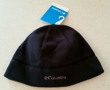 Columbia Fast Trek Fleece Hat BLACK S/M Beanie WINTER Unisex SMALL MEDIUM 145915