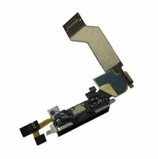 New Black Dock connector for iPhone 4s 4gs A1387 Charging Port Flex Cable