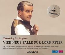 Vier neue Fälle für Lord Peter (Das Bild im Spiegel, In Ali Babas Höhle, De - CD