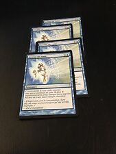 MTG MAGIC COLDSNAP RUNE SNAG (FRENCH ACCROC DE RUNE) (NM) X4