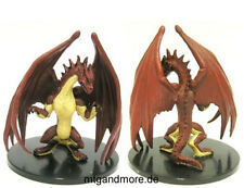 Pathfinder Battles - #060 young red dragon-large figure rise of the runelords
