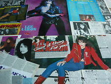 LEE AARON - POSTER/MAGAZINE CUTTINGS COLLECTION (REF R1)