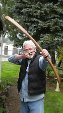 "Archery Long Bow 40-50 lb  ""Apache Long Bow"" 58""  Right Handed"