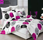 Single/Double/Queen/King Size Bed Quilt/Duvet Cover Set 100% Cotton-MONICA