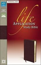 Life Application Study Bible (NIV, Burgundy, Gold-Gilded Pages)