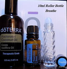 doTerra BREATHE Respiratory Blend Essential Oil in 10ml ROLLER BOTTLE FREE SHIP