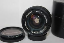 Fuji Fujinon Z 29-47mm Pentax  M42 Mount f3.5-4.2 Wide Angle Zoom Lens