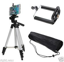 Tripod Camera Stand + Mobile Phone Holder Clip Desktop Selfie Camera Stand