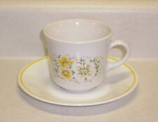 Corelle / Corning - APRIL - 8 oz. Cup and Saucer