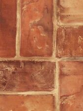 Light Red Brick In Check Pattern Wallpaper SF50305