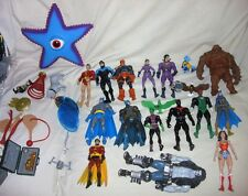 dc universe classics sdcc lobo starro wonder twins plastic man huge batman lot