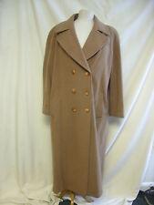 """Ladies Coat -Unbranded, Chest 40"""", Beige, 80% Wool, - 2407"""