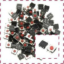 100Pcs Tactile Push Button Switch Momentary Tact Switch 6X6X5mm SMD 4-Pin DIP