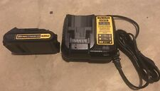 1- Dewalt DCB201 20V  Lith-Ion Batteries & DCB107 20V Charger - NEW & Genuine
