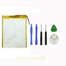 "5600mAh 3.7V Rechargeble Battery Li-ion Polymer Battery for 9""/10""Tablet + Tools"