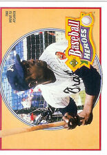 Hank Aaron 1991 Upper Deck Heroes #21 of 27  Atlanta Braves