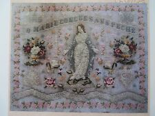 10% Off Reflets de Soie Counted X-stitch chart - O Marie