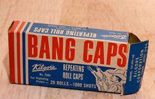 Vintage Kilgore Repeating Roll Caps Bang Caps EMPTY Box Only No. 2504