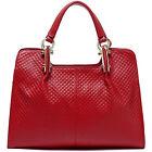 """NEU 2016 Thompson Luxury Bags """"Melissa"""" Rhombus-Leder-Tasche Handtasche UVP 198€"""