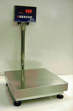 "Bench Platform Digital Scale NTEP Legal Trade 400 lbs 20"" X 20"" Platform Recycle"