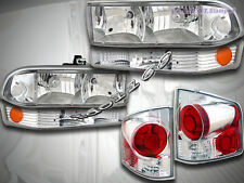 98-04 CHEVY S10 PICKUP HEADLIGHTS + BUMPER LIGHTS + ALTEZZA TAIL LIGHTS
