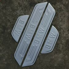 Stainless Steel High Quality Door Sill Scuff Plate For BMW X3  2011-2014