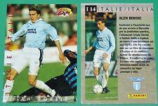 FOOTBALL CARD PANINI 1995 ALEN BOKSIC LAZIO ROMA CALCIO ITALIA 1994-95