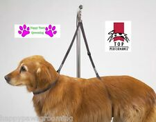 Dog Grooming NO SIT LIE DOWN RESTRAINT HARNESS SYSTEM Nylon for Table Arm,Bath