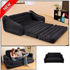 LARGE Futon Sectional Sofa Couch Air Bed Loveseat Sleeper Living Room Furniture