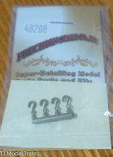 Precision Scale #48208 Hooks (Brass Castings) 4 in pkg (for: Models)