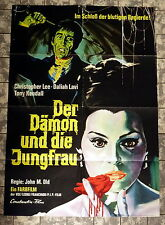 DÄMON UND DIE JUNGFRAU / Whip and the Body * A1-FILMPOSTER - LEE 1967 MARIO BAVA